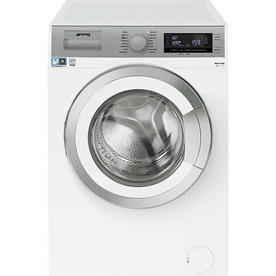 Smeg WHT1114LSUK A+++ 11Kg 1400 Spin Washing Machine White New from AO