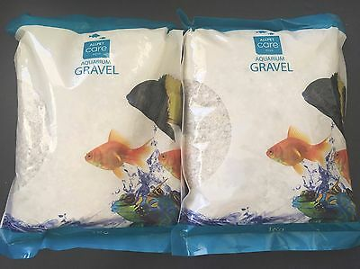 Aquarium Gravel White - 1kg x 2