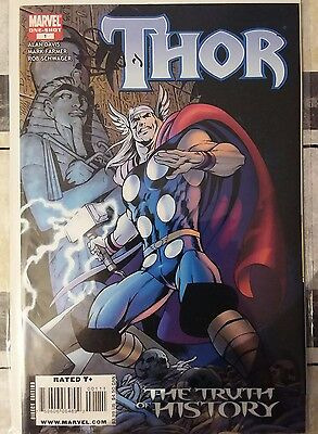 """Thor """" The Truth of History"""" One-shot signed by Alan Davis"""