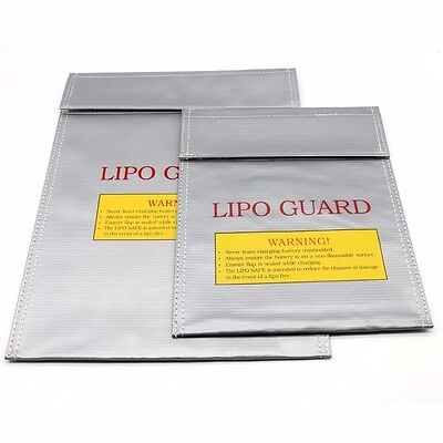 UK Lipo Battery Fireproof Bag Storage Guard Safe Charging Holder Sack Protection