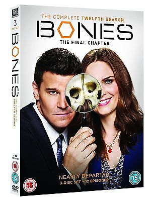 Bones Season 12 Final Complete DVD Boxset New & Sealed **** FAST & FREE ****