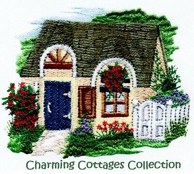 Charming Cottages Collection - Machine Embroidery Designs On Cd