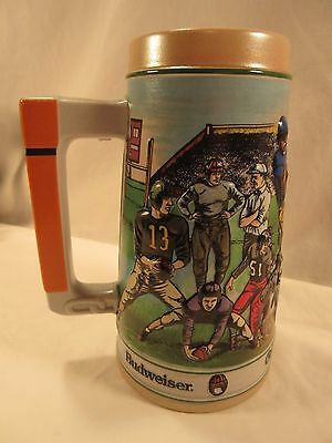 "1990 Budweiser Footballl "" Gridiron Legacy"" Sports Series No Box"