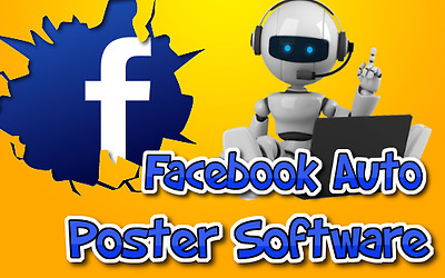 Facebook Auto Posting Poster Software System Automatic Automated Ads Advertising