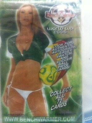 2006 World Cup Soccer Benchwarmer Cards X10