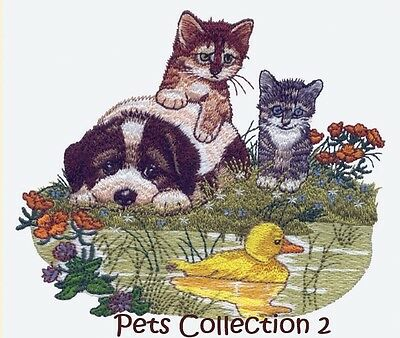 Pets Collection 2 - Machine Embroidery Designs On Cd
