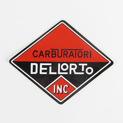 Genuine original vintage Dellorto sticker