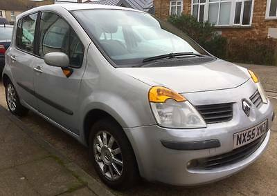2005 RENAULT MODUS DYNAMIQUE 16V SILVER 99p start SPARES OR REPAIRS