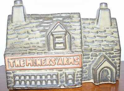 Tremar Pottery The Miners Arms money box