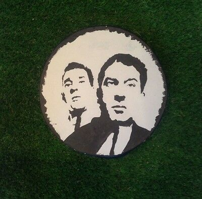 The Krays Stepping Stone For The Garden Home Or Decoration Hand Painted.