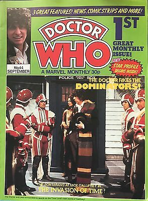 DOCTOR WHO A MARVEL MONTHLY Bundle Job Lot No's 44,45,46,80,81,82,83,84