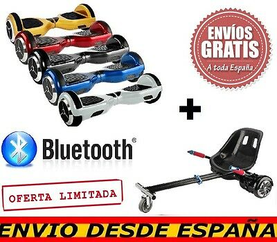 Scooter Electrico 6.5 - Patinete Eléctrico + Hoverkart. Pack Completo Bluetooth