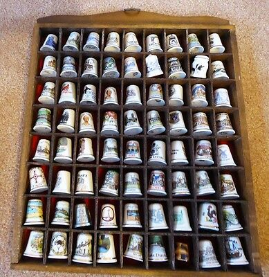 Thimble Rack With 72 Thimbles - Mainly Topographical(4)(#12373712)