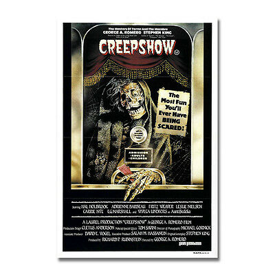 CREEPSHOW Horror Movie Art Silk Poster Print 12x18 24x36 inch