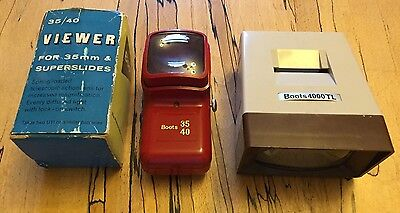 Vintage Boots 4000 TL Viewer & 35/49 Viewer In Box