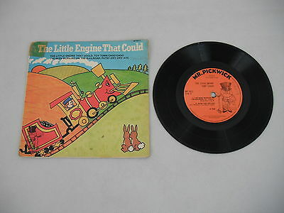 """The Little Engine That Could - Mr. Pickwick - Kids 7"""" Vinyl EP - Toy Town Choo"""