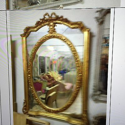 French Carved Ornate New Magnificent Mirrors