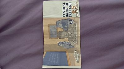 1993 Bank of Ireland £5 note