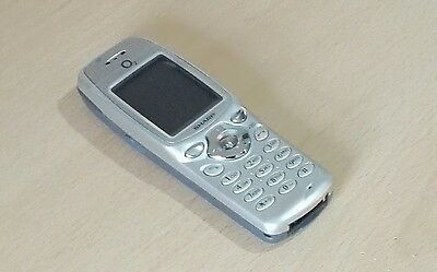 EASY TO USE RETRO SHARP GX1 - Silver (O2 Network -UNLOCKED) Mobile Phone