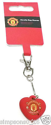 Manchester United Bag Charm Official Football Club Gifts