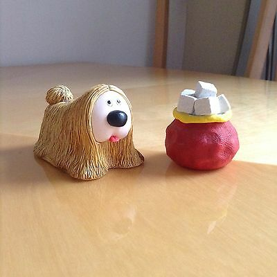 Sugarlump Studio Dougal & Sugar Cubes Magic Roundabout Collectable, Mint, Rare.