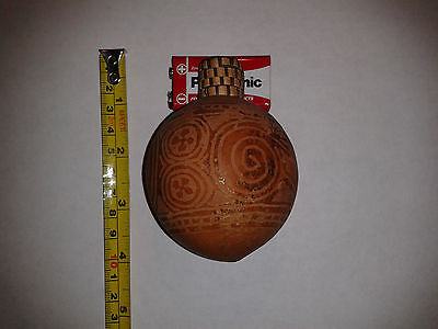 Mid 20Th C? Oceanic Carved Gourd.