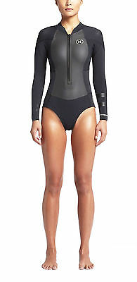 Hurley Fusion 202 Women's Spring Wetsuit Surfing Watersports Surf Wind New