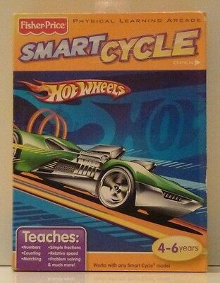Fisher-Price SMART CYCLE Software - Hot Wheels New