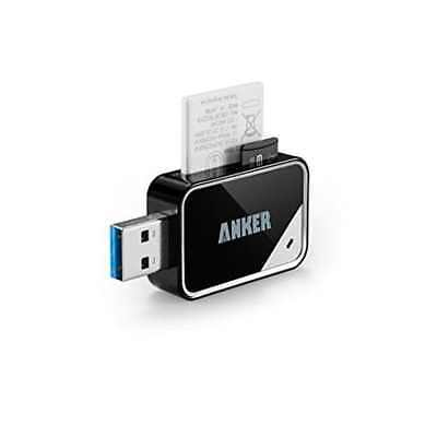 Anker USB 3.0 Card Reader 8 In 1 For SDXC SDHC SD MMC RS-MMC Micro ***ORIGINAL