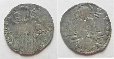 ZURQIEH -aa3124- Italy, VENICE, Silver Grosso, 14th Century A.D