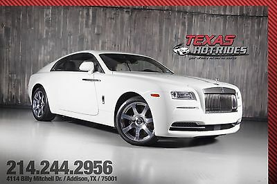 2014 Rolls-Royce Wraith Base Coupe 2-Door 2014 Rolls Royce Wraith Coupe Many options, Extremely clean inside & out!