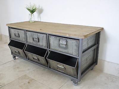 Industrial / Home / Office Retro Style Storage Unit