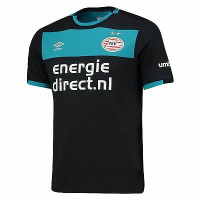 NEW mens Umbro Football Soccer PSV Eindhoven Away Shirt Jersey Top 2016-17 sz m