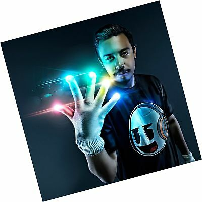 Emazing Lights Electro LED Gloves 7 Light Flashing Modes - #1 Leader in Glovi...
