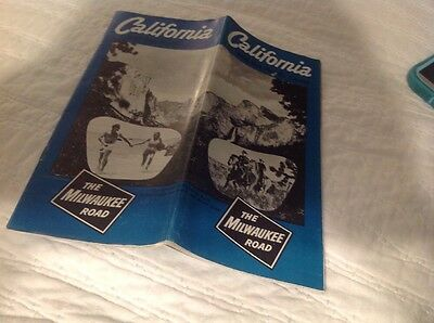 1950's Union Pacific Railroad Promotional Guide for California