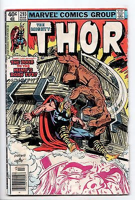 Thor #293 - The Twilight of Some Gods! (Marvel, 1980) - GD