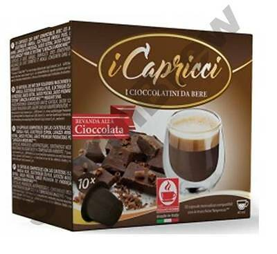 5 Packs (50 pods): Nespresso Compatible Hot Chocolate Pods Capsules