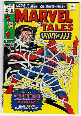 High Grade Marvel Comic Book: 1968 Marvel Tales #20 Spider-Man Slayer NM (B009)