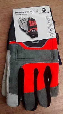 Husqvarna Technical Protective Chainsaw Saw Safety Gloves Class 1: Size 10 Large