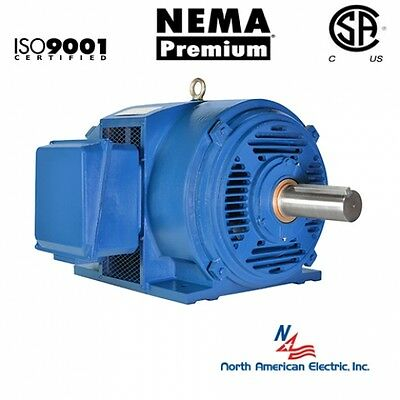 25 hp electric motor 284T 3 Phase 1775 rpm Open Drip Proof Cast Iron 208-230/460
