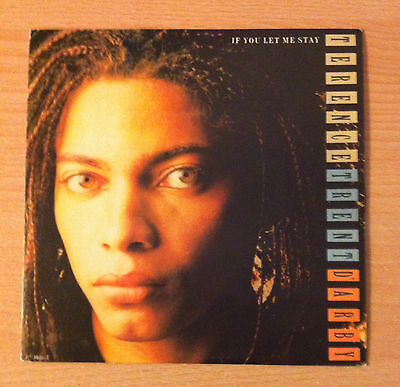 """TERENCE TRENT D'ARBY   """" If You Let Me Stay """" -  Vinyl single 7""""  -  1987 Spain"""