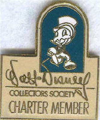 Disney WDCC Charter Member Jiminy Cricket Pin/pins