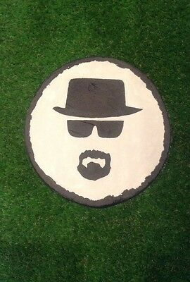 Stepping Stone Walter White Breaking Bad Heisenberg Garden Or Home Hand Painted