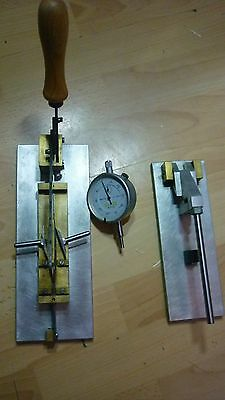 Oboe reed shaping machine+guillotine