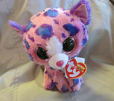 Ty Beanie Boos Claires Exclusive Reagan the Leopard   6'' NWT NEW VHTF