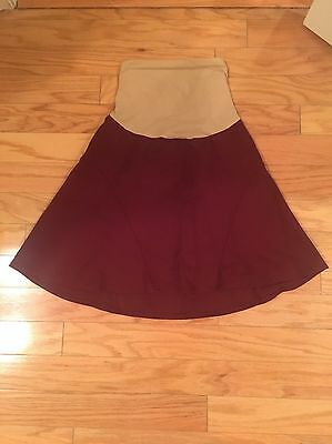A Pea In The Pod Maternity Skirt Size Medium