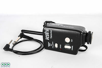 Pocket Wizard Plus II Radio Slave Transceiver w/ Cord