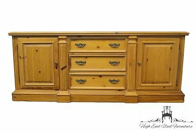 LINK TAYLOR Pine Reproductions 85″ Buffet / Sideboard / Console Cabinet 788-992