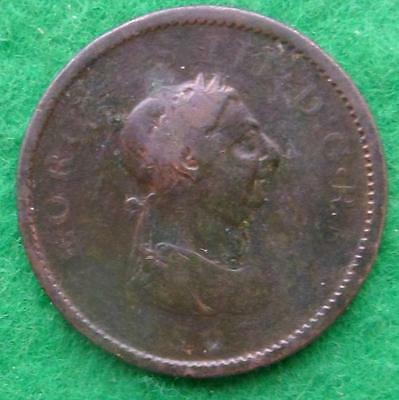 D314 - George 111 penny 1807 - nice coin