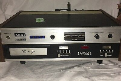 Akai Cr-80d  Stereo  8 Track Player